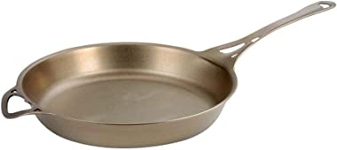 AUS-ION Skillet with Satin Finish 100% Made in Sydney, 3mm Australian Iron, Professional Grade Cookware, 12.5-Inch