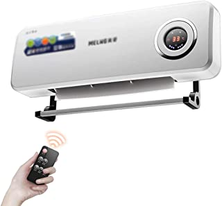 Calentador Termoventiladores y calefactores cerámicos Aire Acondicionado Pared eléctricos Ahorro de energía Aire Caliente Inicio Control Remoto Temporizador de Tres veloci