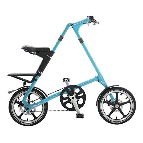"Strida LT Folding Bicycle, folds to 45x20x9"", Turquoise"