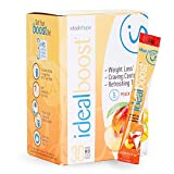 IdealBoost, Weight Loss Drink Mix Packets, Peach Mango, w/Hunger Blocking and Energy Blends, 30 Servings…