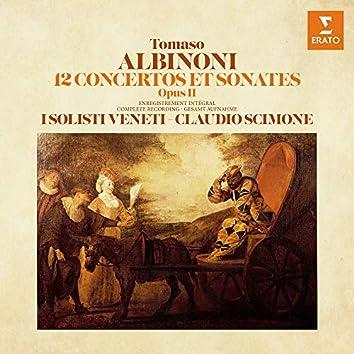 Albinoni: 12 Concertos et sonates, Op. 2