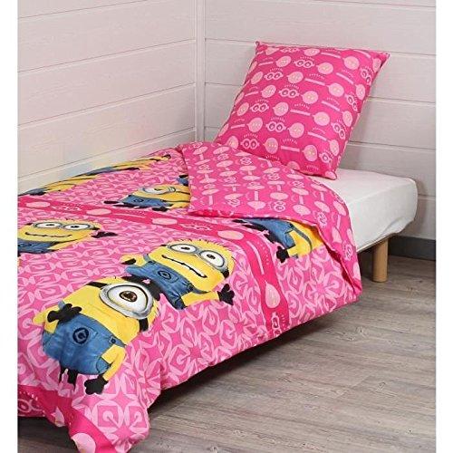 MINIONS Despicable Me Sommerdecke Bett Einzelbett Tagesdecke gesteppt Frühjahr Sommer
