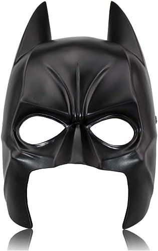 Masque de résine Bathomme, Masque de héros Marvel, Masque de résine HalFaibleeen, Masque de résine d'horreur Dance Party,noir