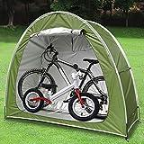 Tenda da Bici, Impermeabile Antipolveri Anti-UV Copertura per Biciclette Tenda da deposito per Giardino Campeggio Pesca 78.7 x 31.5 x 65 inch (Green)