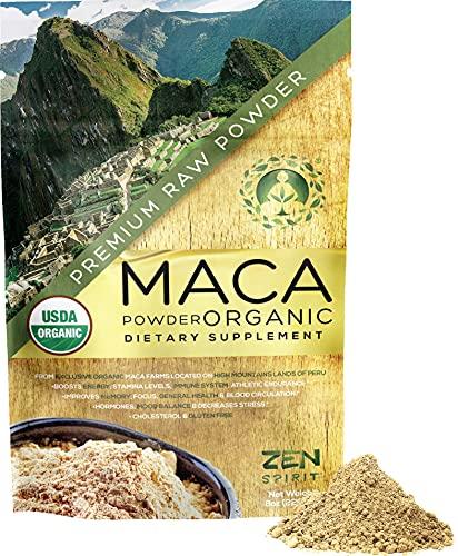Maca Root Powder Organic - Peruvian Root Premium...