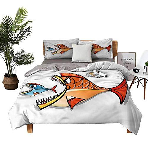 DRAGON VINES twin XL sheet Pisces Zodiac Art Three-Piece Bedding Breathable fabric W104 xL90