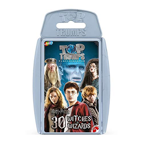Harry Potter Greatest Witches and Wizards Top Trumps Juego de Cartas