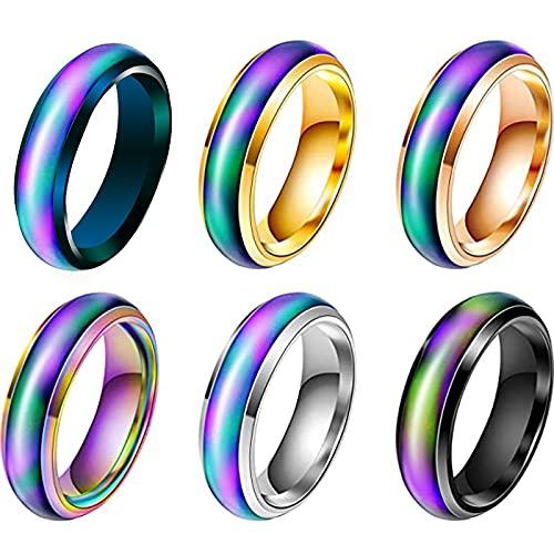 anello donna umore Anello Cambia Colore Umore