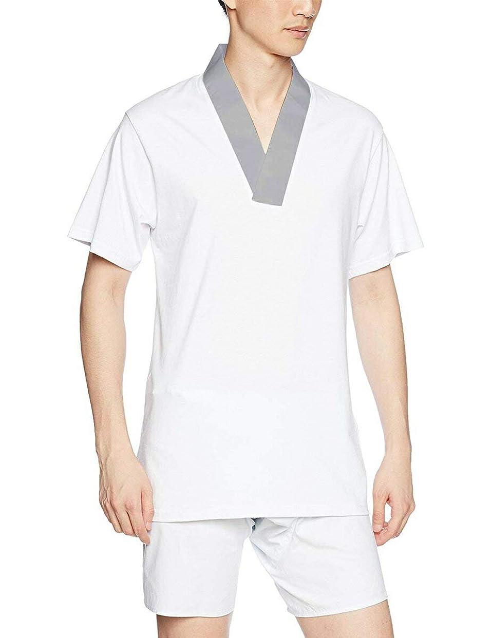 宴会副異議[オオキニ] Tシャツ半襦袢 メンズ 着物用