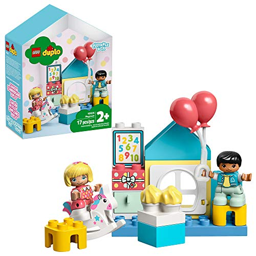 LEGO DUPLO Town Playroom 10925 Kids? Pretend Play Set, Developmental Toy for Toddlers, Great First LEGO Set, New 2020 (17 Pieces)