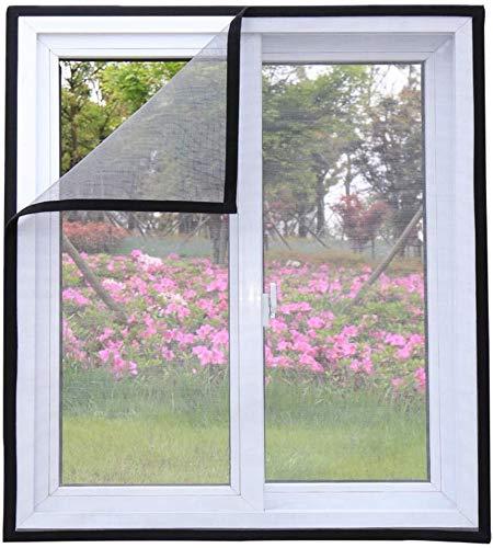 Maran Katzen-Fensterschutz, für Katzen, selbstklebendes weißes Fensternetz gegen Mücken, halbtransparent, zuschneidbar