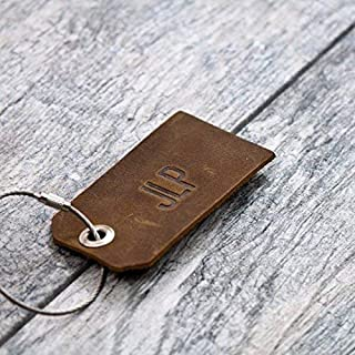 Personalized Custom Leather Luggage Tag