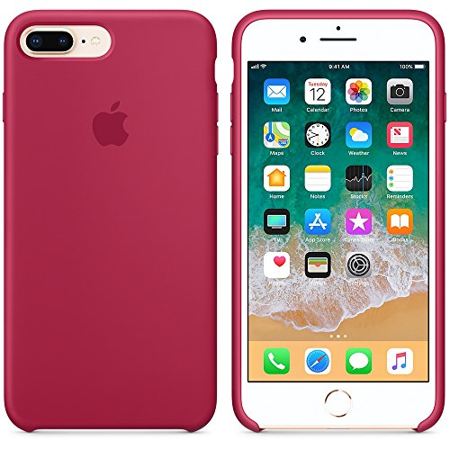 A & W 2018 Estate Ultima Custodia in Silicone per iPhone 7Plus / iPhone 8Plus 5.5inch (2017) (Porpora)