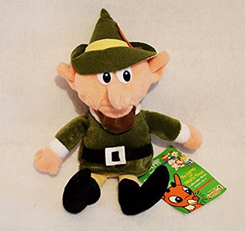 Boss Elf Doll Limited Edition Rudolf the rot-Nosed Reindeer Collectable Beans by Stuffins