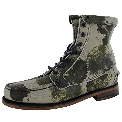 Sebago Womens Kowloon B50116 Leather Ankle Boot Shoe, Camoflage, US 5
