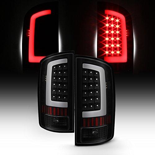 For 03-06 Dodge Ram 1500 2500 3500 LED DRL Light Tube Black Smoked Tail Brake...