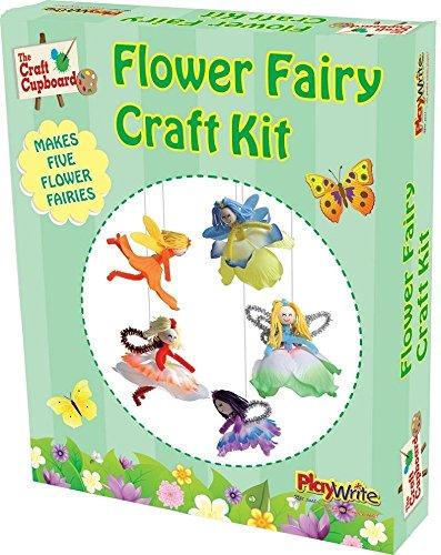 Kit Creation Fée Des Fleurs Artistique Activité Créatif Enfant
