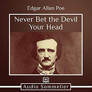 Never Bet the Devil Your Head audiobook cover art