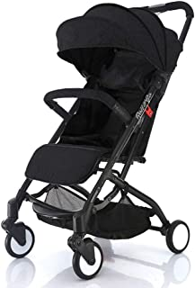 Babyroues Roll & Go Stroller, Fits In Airplane Overhead Bin, One Hand Fold, Large Extendable Canopy, One Hand Pull Handle, Lightweight & Compact, Perfect From Newborn To 4 Years old & Up