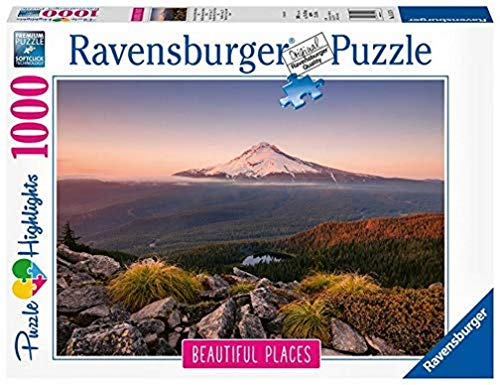 Ravensburger Puzzle 15157 - Stratovulkan Mount Hood in Oregon, USA - 1000 Teile
