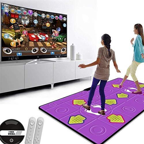Nfudishpu Tanz Teppich HD-Spielekonsole Gewicht verlieren Laufen drahtlose Technologie Arcade-Stil Tanzspiele für Erwachsene Für Erwachsene/Kinder