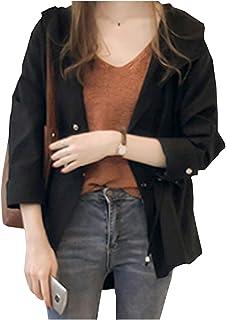[グリーンティー] マウンテンパーカー ジャケット 薄手 フード付き ショート 丈 夏 秋 やわらか 4色 レディース