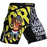 Shorts Hardcore Training Doodles-s Pantalones cortos MMA BJJ Fitness Grappling Hombre