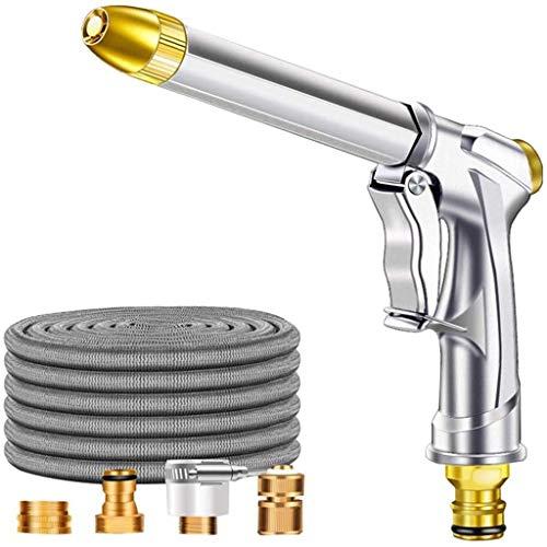 ZBM--ZBM Erweiterbare Gartenschlauch Rohr, 25-100 Ft 3 Mal Erweiterbar Durable Außengärten Flexible Wasserrohr Mit Metall-Anschluss Und Car Wash-Spritzpistole, for Die Bewässerung Und Das Waschen G