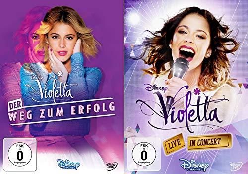 Violetta - Der Weg zum Erfolg + Violetta - Live in Concert (OmU) [2er DVD-Set]