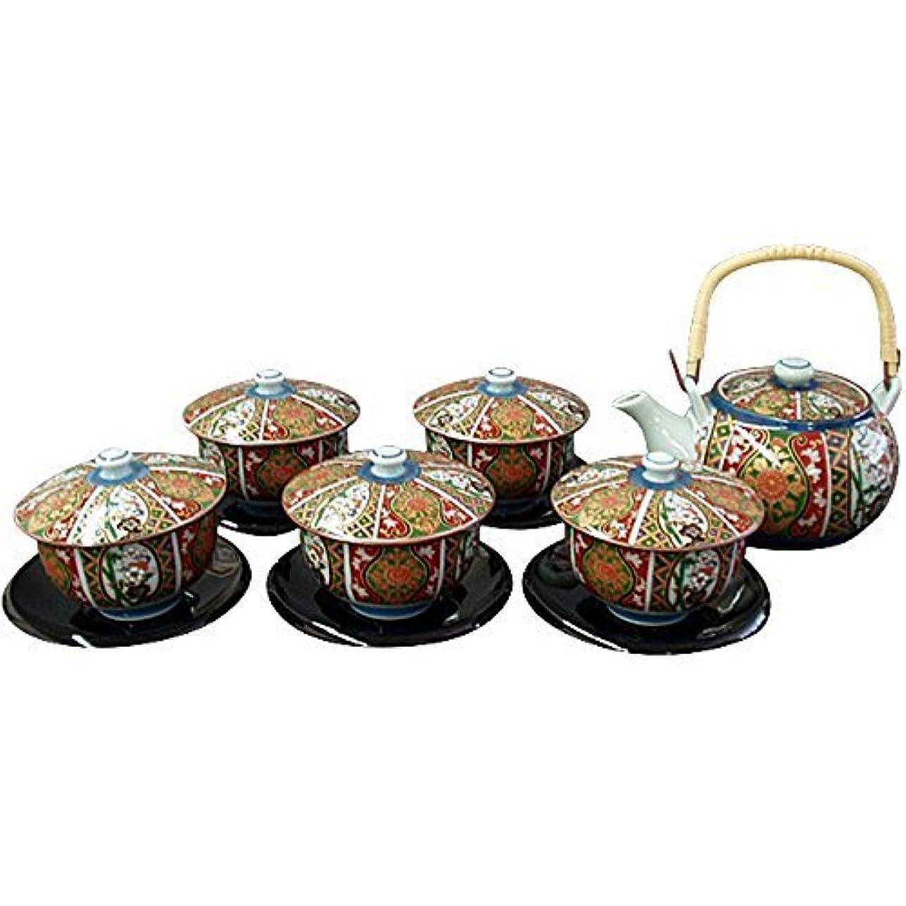 アセンブリ咲く独特の有田焼 CtoC JAPAN 茶托付番茶器セット 02-365327