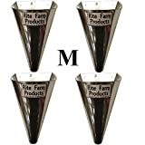 Rite Farm Products 4 Pack of Medium Restraining Killing Kill Processing Cones for Poultry Chicken Foul Birds
