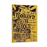 SHXI Vintage-Poster Sex Pistols Gig Poster Ästhetisches