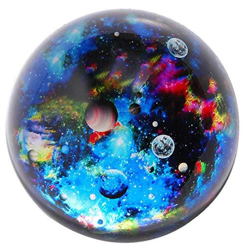 HANUR K9Crystal Galaxy Briefbeschwerer Glas Globe Halbkugel Presse Fall Kreative Dekoration Geschenk Dekoration 6