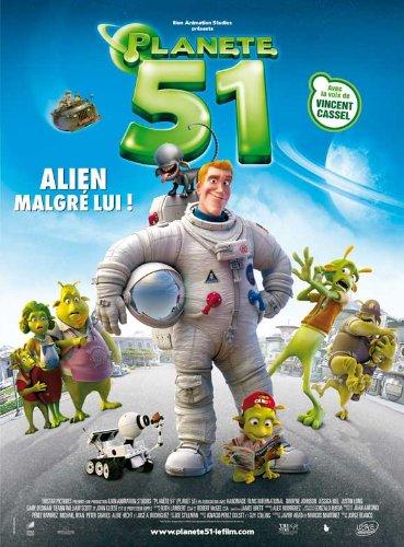Planet 51 POSTER Movie (2009) French Style C 11 x 17 Inches - 28cm x 44cm (Dwayne Johnson)(Jessica Biel)(Justin Long)(Gary Oldman)(Seann William Scott)(John Cleese)(Freddie Benedict)
