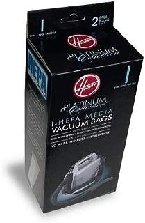 Hoover Type I HEPA Bag (4-Pack), AH10005