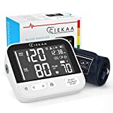CIEKAA Blood Pressure Monitor - Accurate Automatic Digital BP Machine for Home Use & Pulse Rate Monitoring Meter with Cuff 22-42 cm,2×120 Sets Memory,Backlit Display,Includes Batteries, Carrying Case