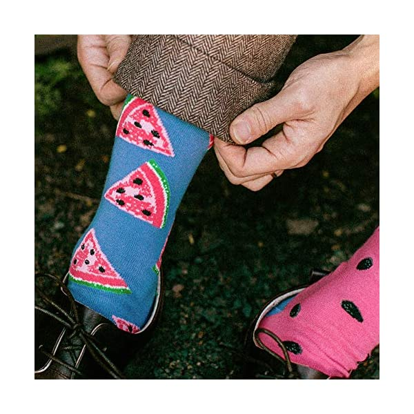 Men's Fun Dress Socks Patterned Crew Colorful Funky Fancy Novelty Funny Casual Socks for Men