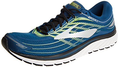 Brooks Glycerin 15, Chaussures de Running Homme, Multicolore (Blue/Lime/Silver 1d473), 41 EU