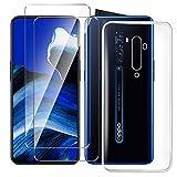 HYMY Hülle für Oppo Reno 2 Smartphone + 2 x Schutzfolie