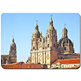 MZTYPLK Antideslizante Alfombra De Baño,campanarios Nueva Catedral clerecia Iglesia Salamanca,Alfombra de Cocina Alfombra Mascota,Alfombras de Ducha 80x60cm