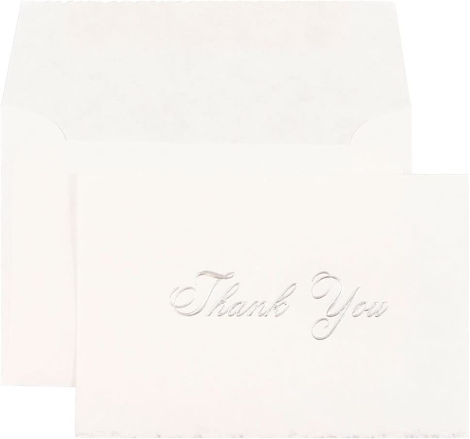 JAM Paper Blank 67% Wholesale OFF of fixed price Card Sets - Parchment You Thank Cards wi