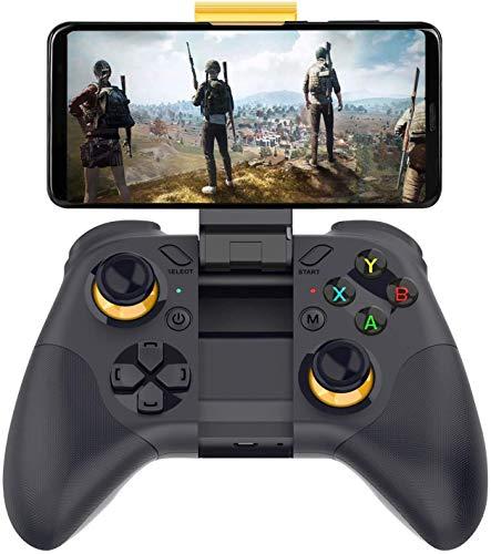 OBEST ゲームパッド スイッチコントローラードリームキャスト PS4 コントローラー ジャイロセンサー機能 ゲーム ワイヤレスコントローラー 無線HD振動6軸ジャイロセンサージョイスティック iOS/Android/PCコントローラー ボタン