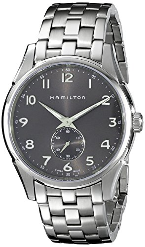Hamilton Herren Analog Quarz Uhr mit Edelstahl Armband H38411183