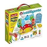 Quercetti - 2270 Jumbo Peggy - 20 pz , chiodini per bambini prima infanzia