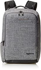 Slim backpack with comfortable fully vented and well-padded back panel; ideal for overnight trips; stylish Grey color Dedicated laptop sleeve and top-load, fleece-lined tablet pocket for transporting electronics Front storage pocket keeps smaller ite...