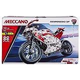 MECCANO – Ducati Desmosedici GP S.T.E.A.M Kit de construcción con suspensión de Muelle de Bobina, para Edades de 10 años en adelante
