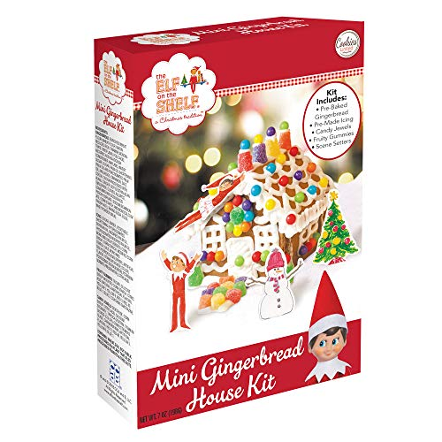 Mini Elf on the Shelf Gingerbread House Kit by Cookies United