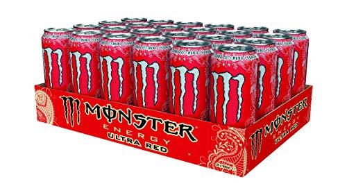 Monster Energy Ultra Red 500ml x24 (Lattina)