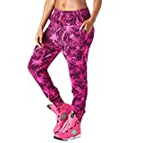 Zumba Fitness Bonfire Babe Sweatpants Pantalones de Mujer, Todo el año, Mujer, Color Shocking Pink, tamaño Small