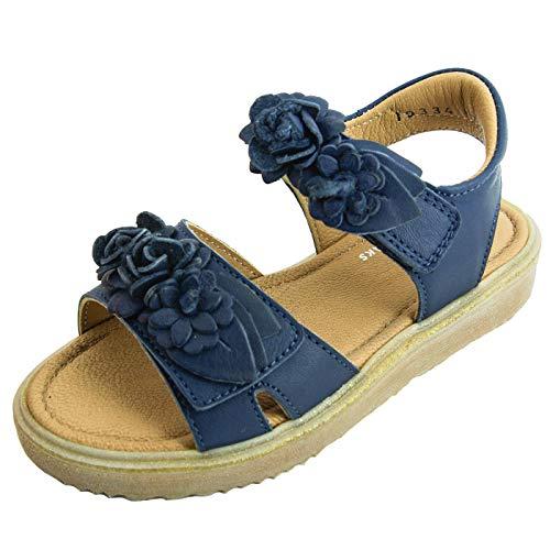 Jochie und Freaks Kinder Sandale aus Leder 27 EU Dark Blue